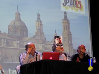 Presentación del libro con Podtaxi, Memorias de un tambor y Esteban