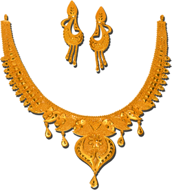 Gold Necklaces  - https://www.facebook.com/jewellerygardenpvtltd/