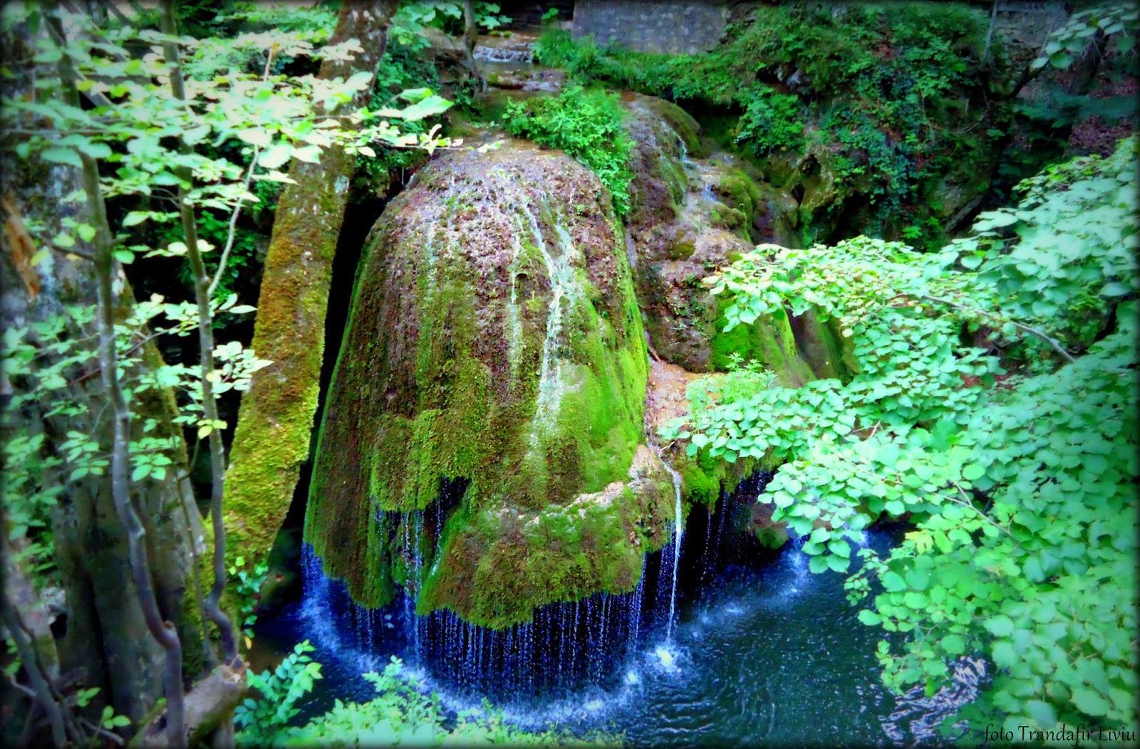Cascada Bigar Parcul National Cheile Nerei