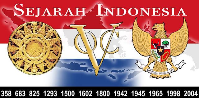 Sejarah Indonesia merdeka kuno rangkuman, gambar peta, sebelum merdeka