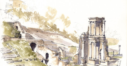 Volterra Urban Sketchers: il workshop 2016