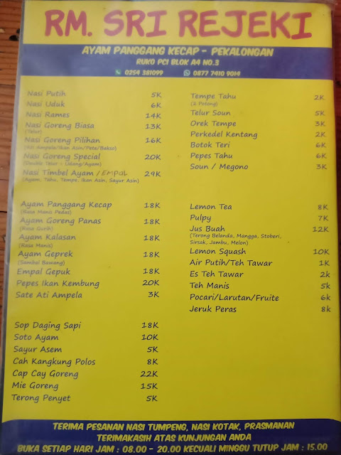 Kuliner enak di kota serang banten
