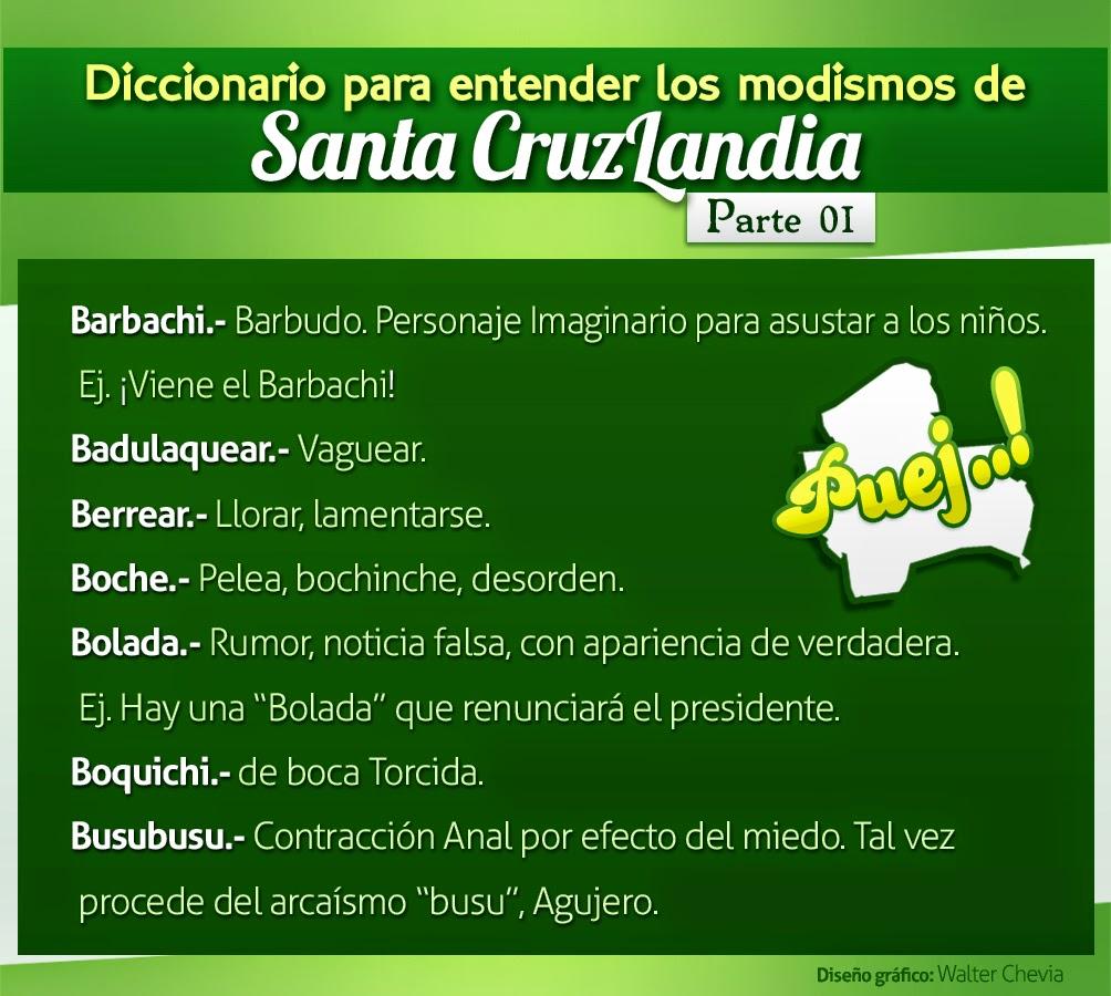 Diccionario Modismos Bolivianos
