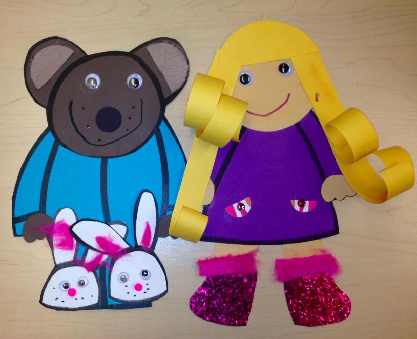 Preschool Wonders Goldilocks Amp The 3 Bears 5 For Friday