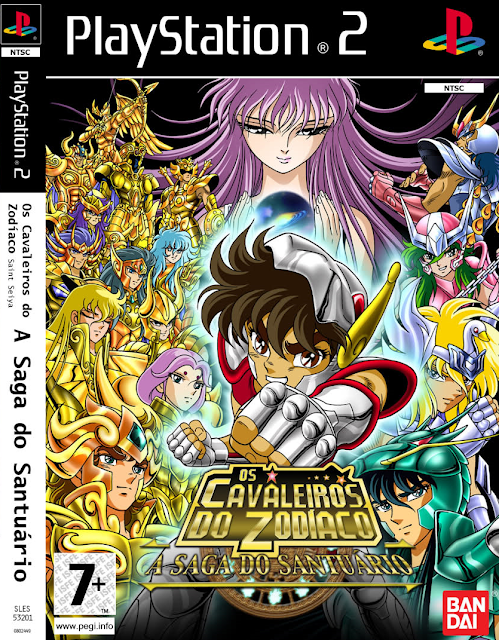 ultra-rom cavaleiros do zodiaco dublado ps2