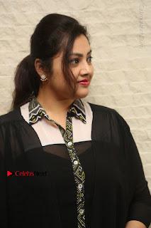 Meena Latest Stills in Black Dress at TSR TV9 Awards Press Meet