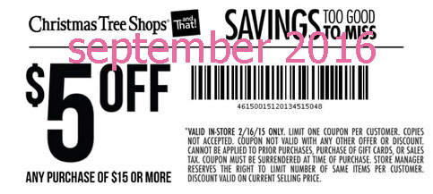 free printable coupons christmas tree shops coupons - Coupon For Christmas Tree Shop