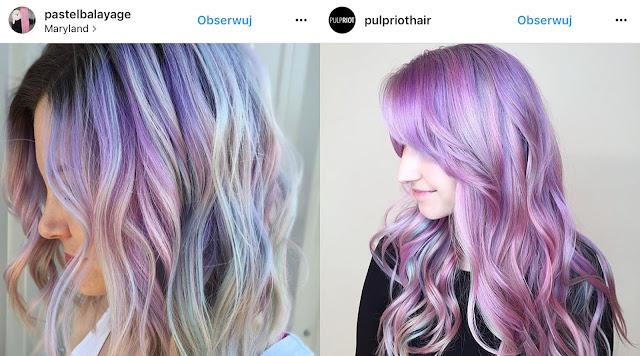 fioletowe włosy gancjana