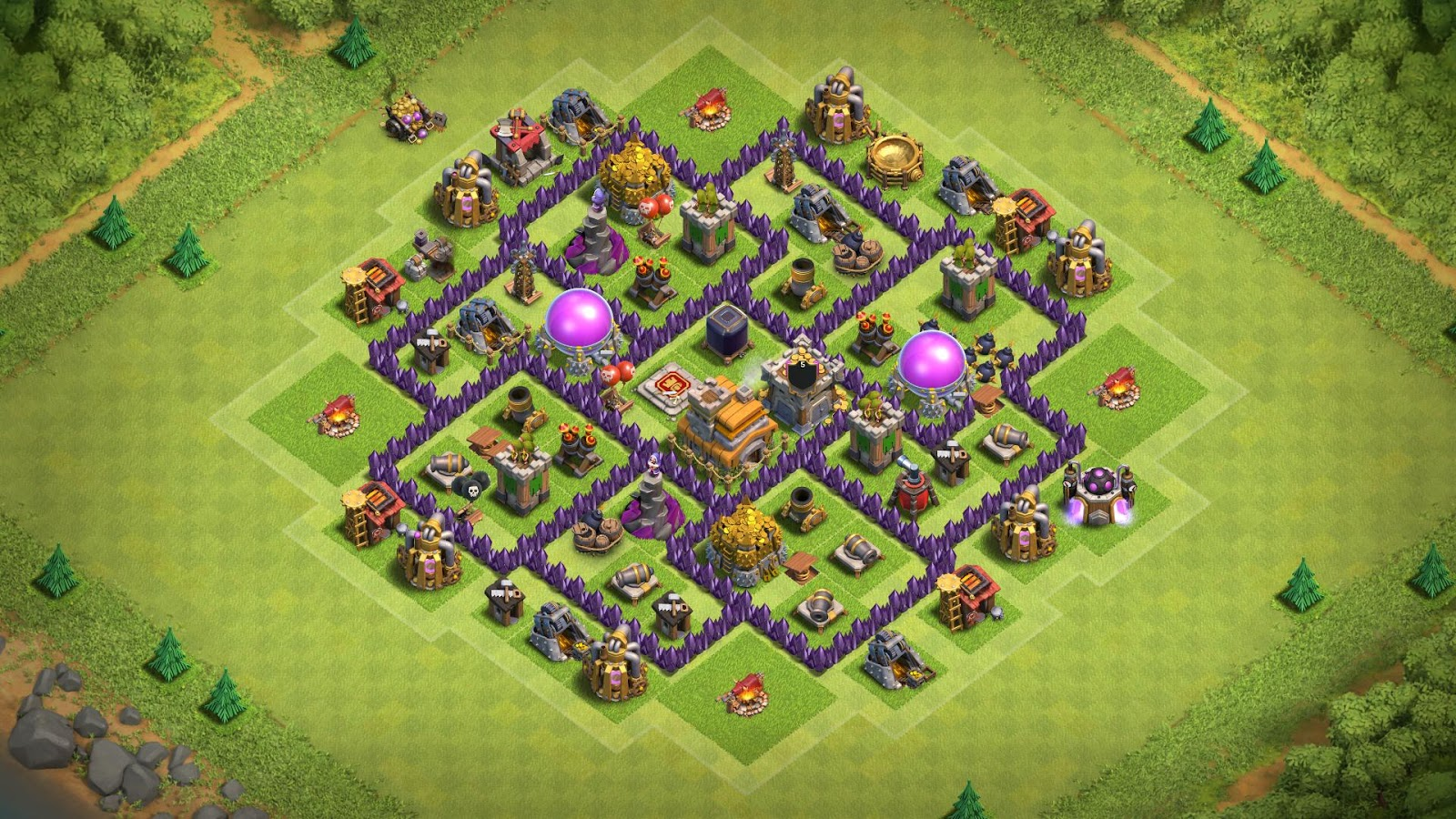 12+ Best Town Hall 7 Farming Base 2019