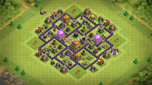 best th7 farming base