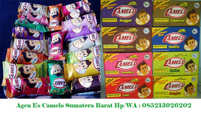 Agen Es Cream Camelo Padang, Bukittinggi, Payakumbuh
