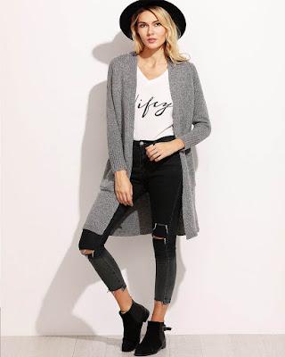 outfits hipster juvenil tumblr blanco y negro casual de moda