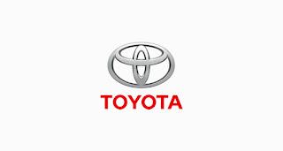 Font yang digunakan Toyota