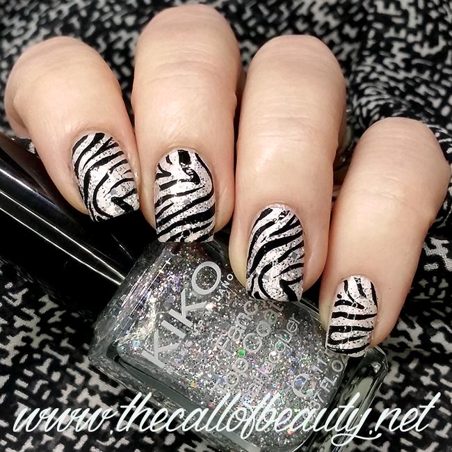 Zebra Manicure