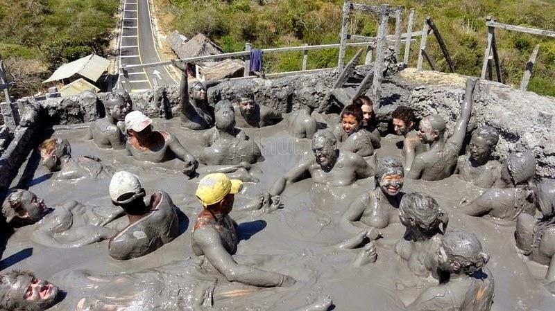 The Awkward Mud Bath at El Totumo Mud Volcano
