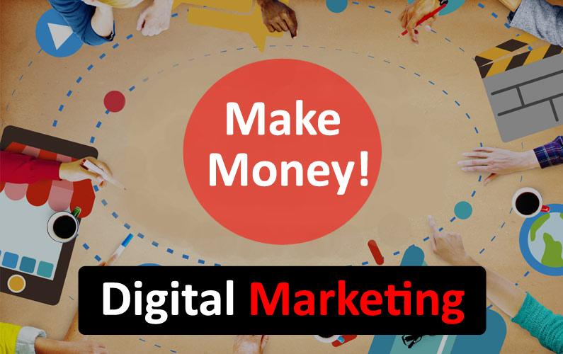make money by digital marketing, digital marketing, make money, how to make money, online money making, digital marketing tips,