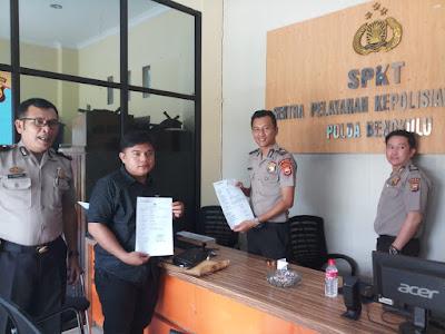 SMSI Bengkulu Dampingi Anggota Laporkan Ketua DPRD Kota ke Polda