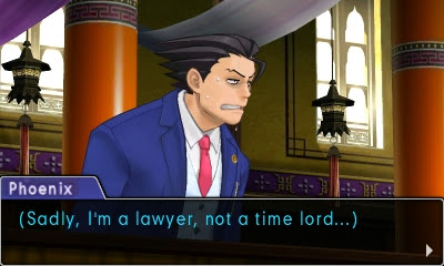 Phoenix Wright Ace Attorney time lord