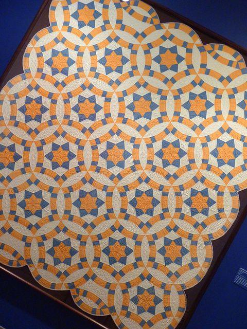Cloud of Quilt Patterns Golden Wedding Ring BlockBase 313
