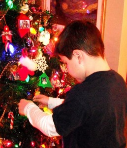 Hanging an Ornament
