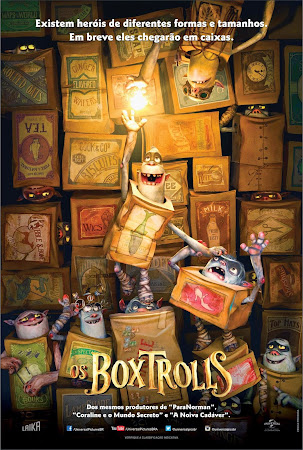 Os Boxtrolls BDRip AVI + RMVB Legendado