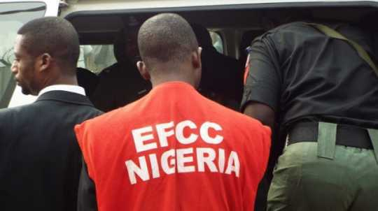 EFCC operative used to illustrate the story, former Nigerian Governor found guilty