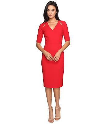 modelos de Vestidos Rojos Cortos