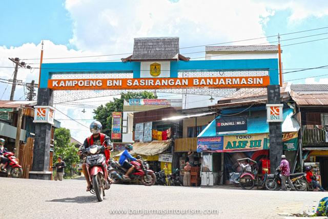 Kampoeng Sasirangan Banjarmasin