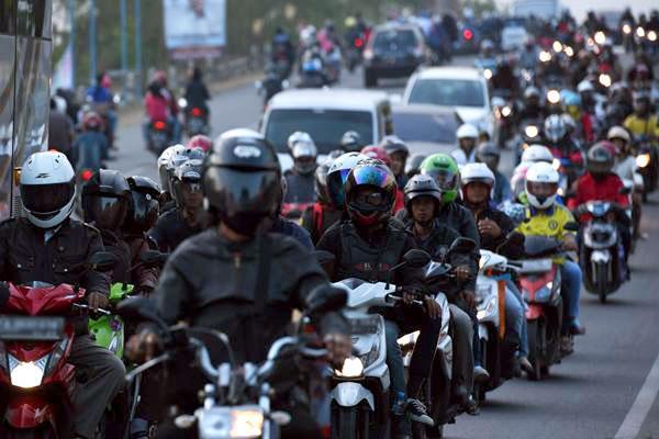 Tipe Pengendara Motor di Indonesia