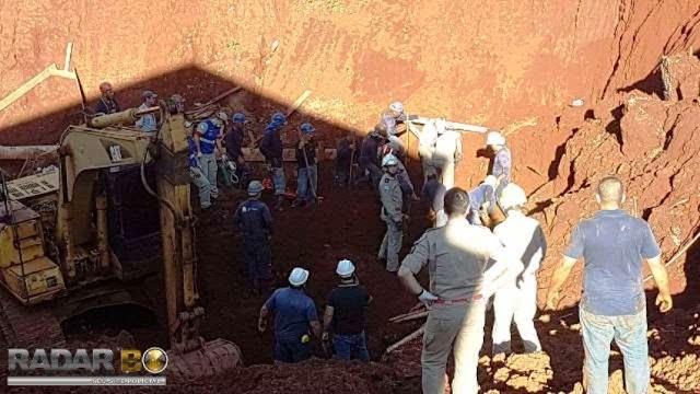 Três pessoas morrem ao serem soterradas em obra em Cascavel