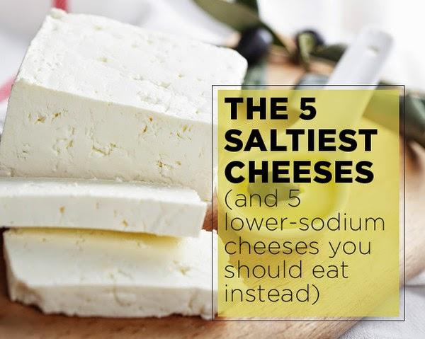 low salt diet cheese?