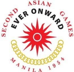 Logo Asian Games Ke 2 Tahun 1954 di Manila, Fhilipina