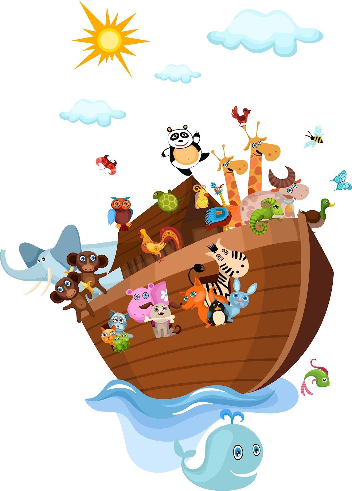 Noah S Ark For Boys Free Party Printables And Images