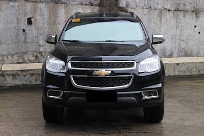 Eksterior Chevrolet Trailblazer Prefacelift Tampak Depan