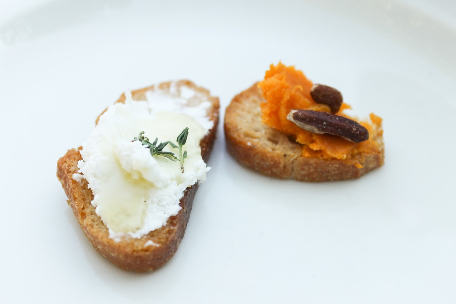 texas french bread fall garden party crostini