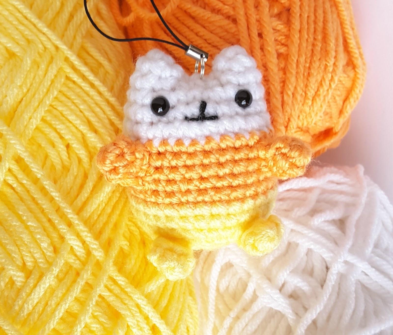Ami Amore: Pusheen Amigurumi Crochet Pattern & Tutorial: Candy Corn ...
