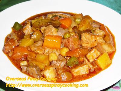 Pinoy Pork Menudo