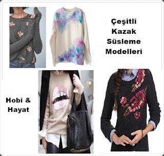 Kazak Süsleme - Hobi Moda
