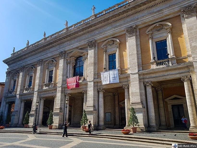 Museus Capitolino - O que fazer em Roma, Itália