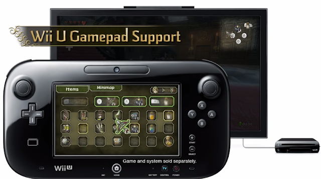 The Legend of Zelda: Twilight Princess HD Wii U Gamepad real-time weapon change