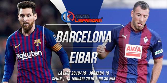 Prediksi Bola Barcelona vs Eibar Liga Spanyol