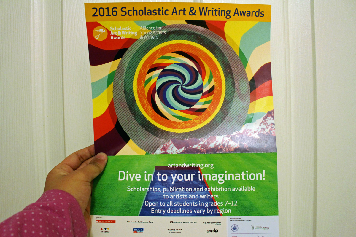 Students learn the art of writing with 'Scholastic Writing Awards 2016'