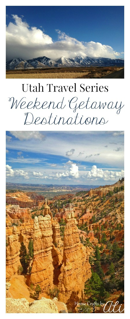 Plan your weekend getaway in Utah with these utah travel series posts
