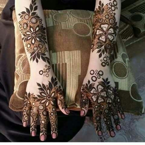 24 Latest Arabic Mehndi Designs For Full Hands Intricate And