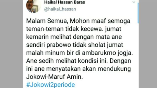 Akun Twitternya Di-hack, Ustadz Haikal Hasan Berikan Klarifikasi