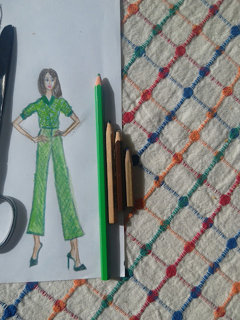 Customizing a Notebook With a Hand- Drawn Fashion Illustration: DIY Project of the Day