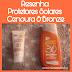 Cenoura & Bronze Protetor Solar e Protetor Facial FPS30
