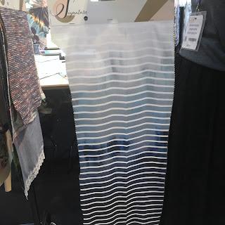 Victor fabrics Editex fabric stand CHSI