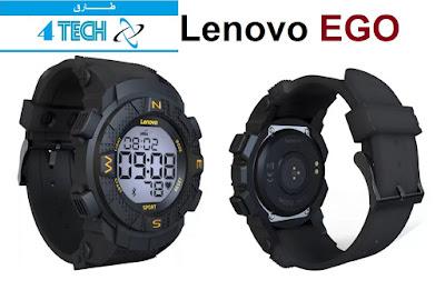 ساعة لينوفو Lenovo EGO الرقمية الذكية  ساعة لينوفو الرقمية الذكية Lenovo EGO  مواصفات و مميزات ساعة لينوفو Lenovo EGO الرقمية الذكية