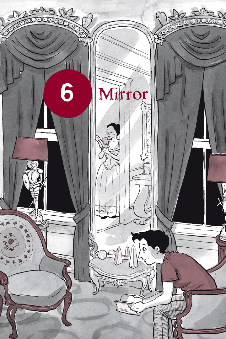 Page 1, Chapter 6: Mirror from Alison Bechdel's graphic novel Are You My Mother